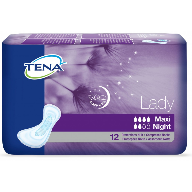 TENA LADY MAXI NIGHT  12 UDS