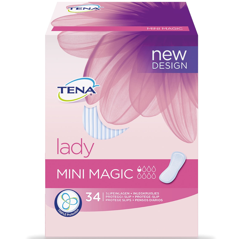 TENA LADY MINI MAGIC 34 UDS