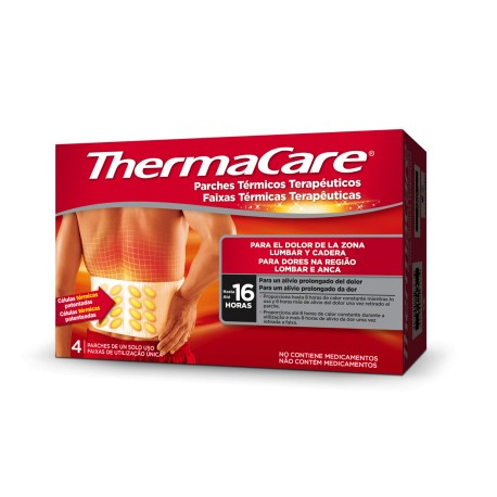 THERMACARE PARCHES LUMBAR/CADERA 4 UNIDADES
